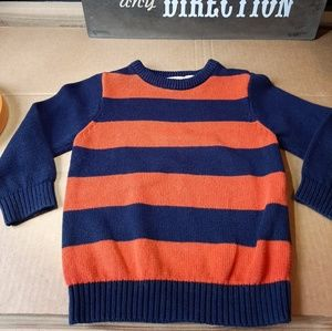 Boys Childrens Place sweater size 3t blue orange